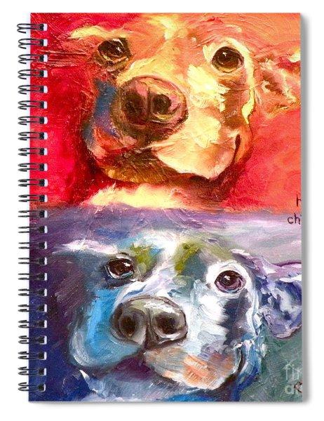 Hot Dog Chilly Dog Study Spiral Notebook