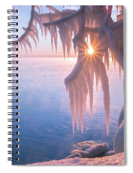 Hot Ice Spiral Notebook