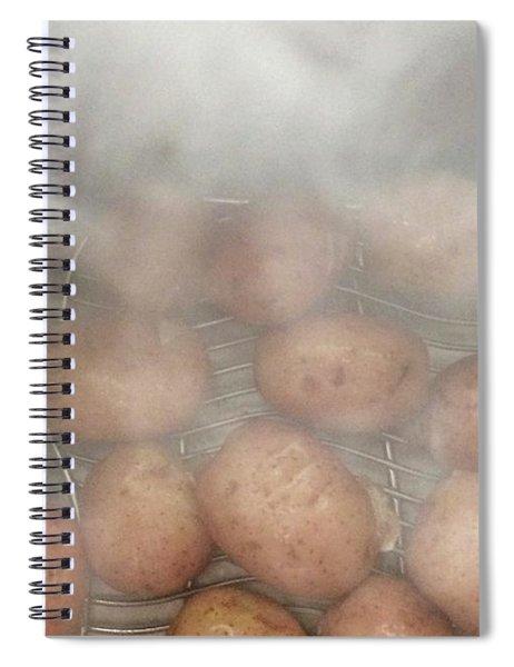 Hot Potato Spiral Notebook