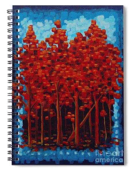 Hot Reds Spiral Notebook