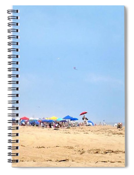 Hot Summer At The Beach Spiral Notebook