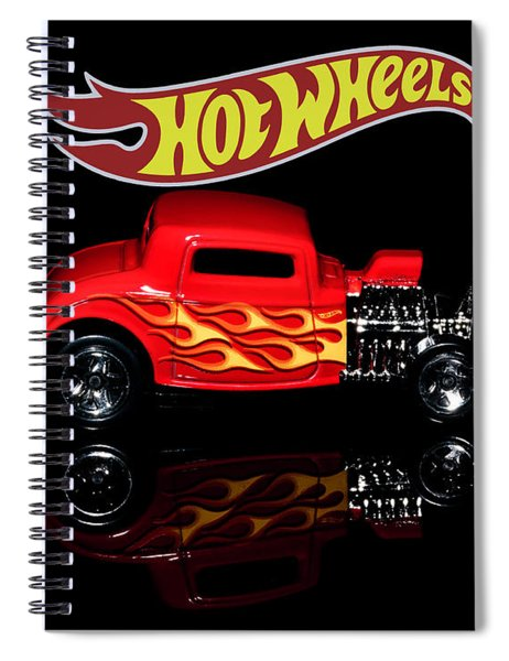 Hot Wheels '32 Ford Hot Rod Spiral Notebook