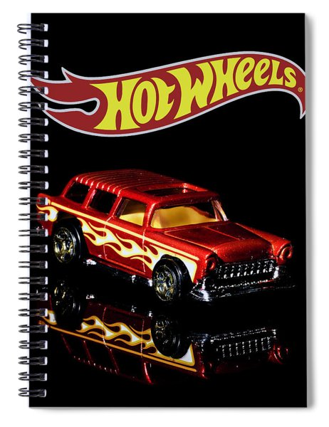 Hot Wheels '55 Chevy Nomad 2 Spiral Notebook