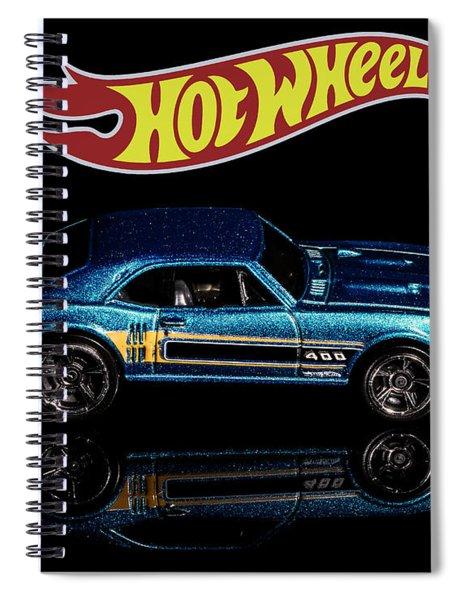 Hot Wheels '67 Pontiac Firebird 400-1 Spiral Notebook