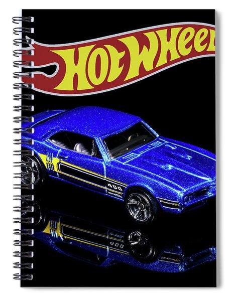 Hot Wheels '67 Pontiac Firebird 400-2 Spiral Notebook