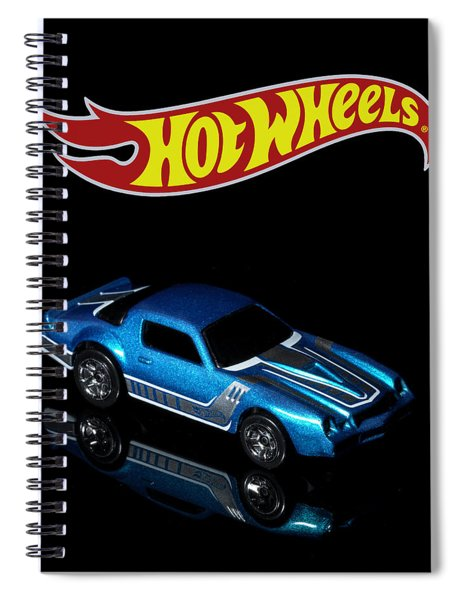 Hot Wheels 67 Pontiac Firebird 400-3 Spiral Notebook