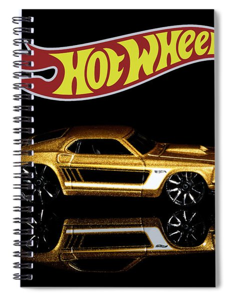 Hot Wheels '69 Ford Mustang Spiral Notebook