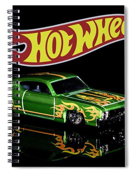 Hot Wheels '69 Ford Torino Talladega Spiral Notebook