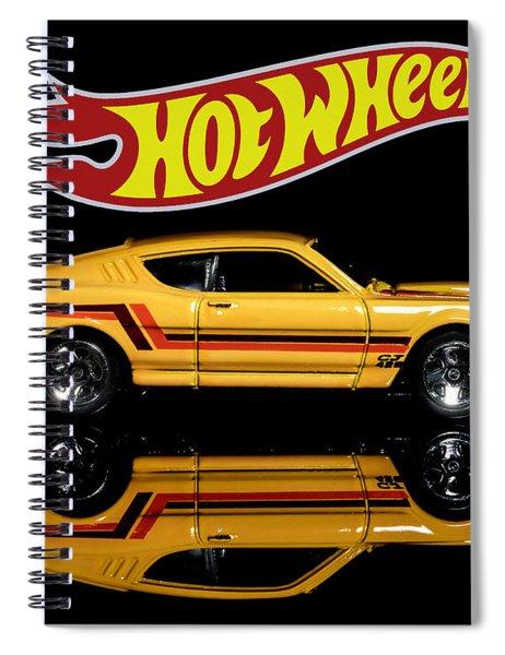Hot Wheels '69 Mercury Cyclone Spiral Notebook