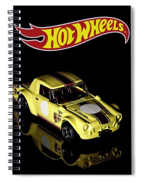 Hot Wheels Datsun Fairlady 2000 Spiral Notebook