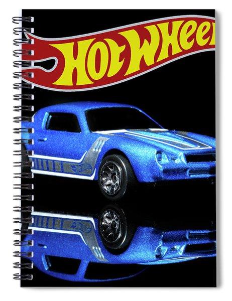 Hot Wheels Gm Camaro Z28 Spiral Notebook
