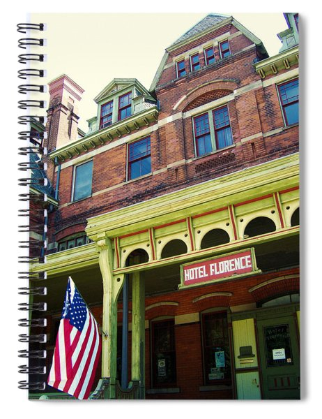 Hotel Florence Pullman National Monument Spiral Notebook