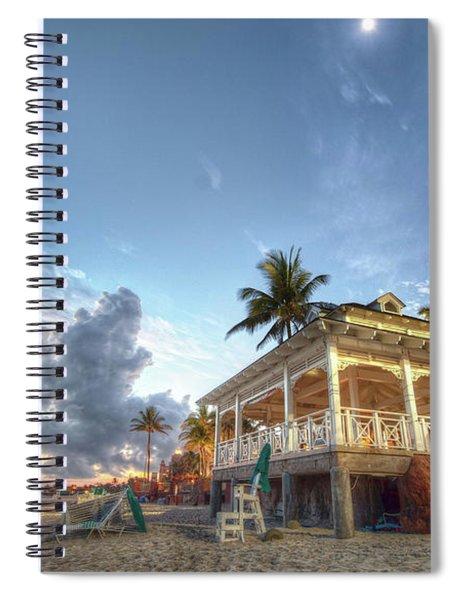 Hotel Spiral Notebook