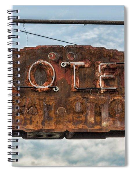 Hotel Pontotoc Spiral Notebook