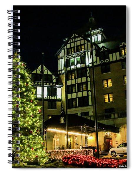 Hotel Roanoke Christmas Spiral Notebook