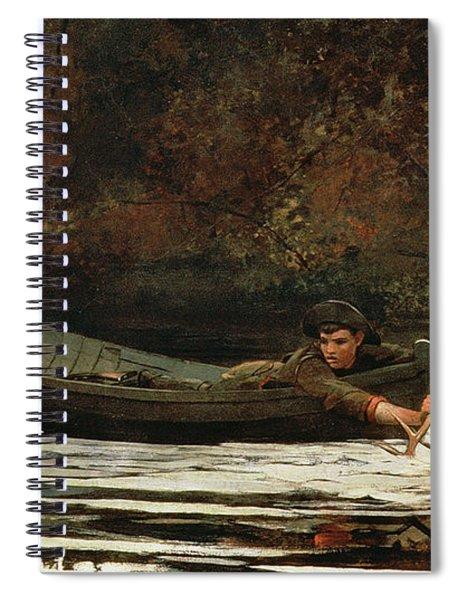 Hound And Hunter Spiral Notebook