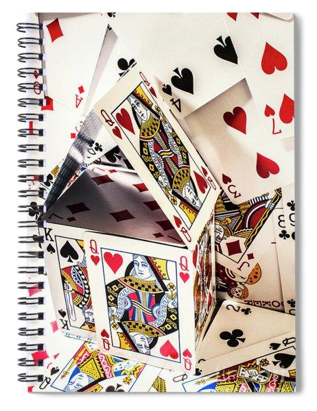 House Edge Spiral Notebook