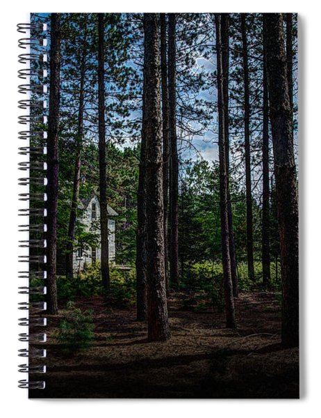 House In The Pines Spiral Notebook