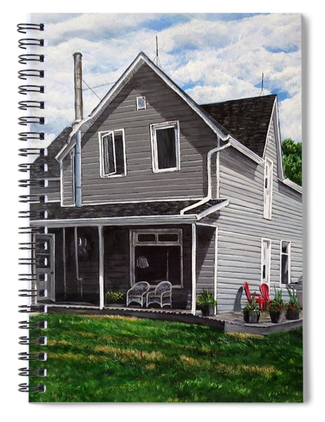 House Of Memories Spiral Notebook