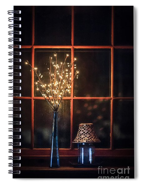House Of Mystic Lights Spiral Notebook