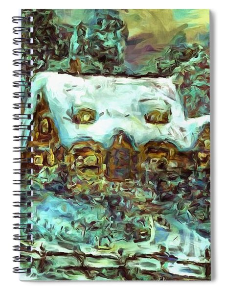 House Of Solace Spiral Notebook