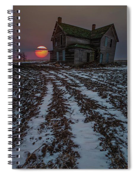 House Of The Rising Sun Spiral Notebook