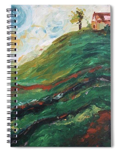 House On A Hill Spiral Notebook