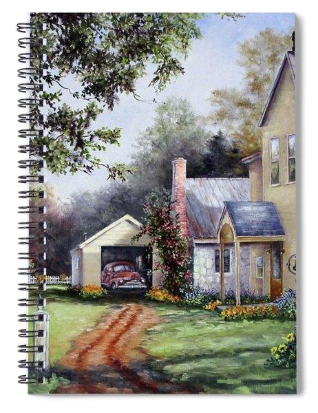House On Bird Street Spiral Notebook