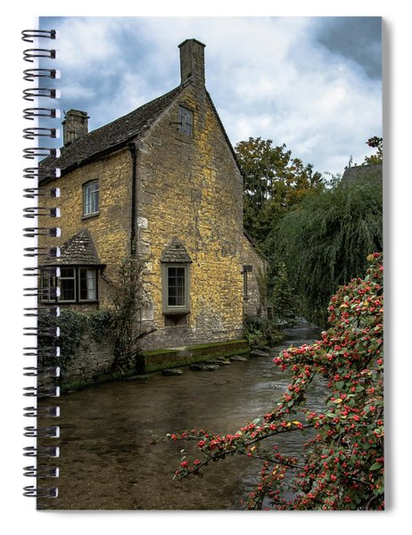 House On The Water Spiral Notebook