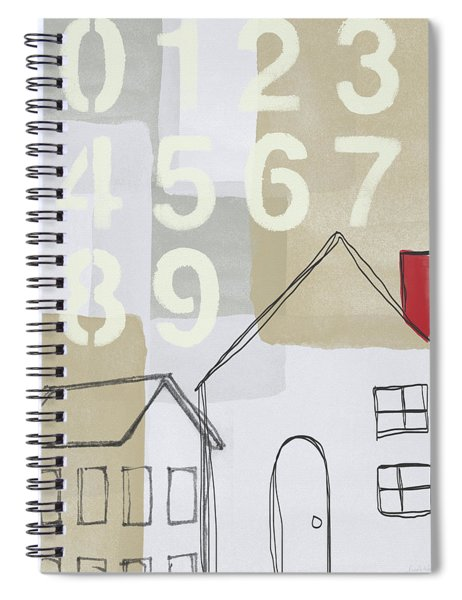 House Plans 3- Art By Linda Woods Spiral Notebook