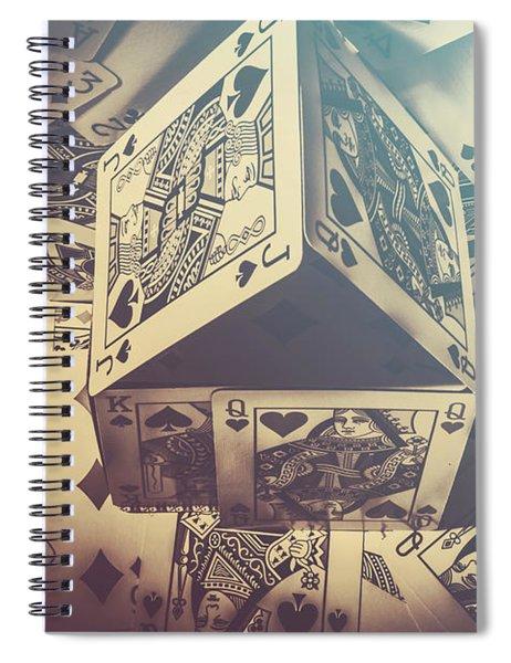 House That Poker Built Spiral Notebook