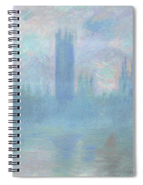 Houses Of Parliament  London Spiral Notebook