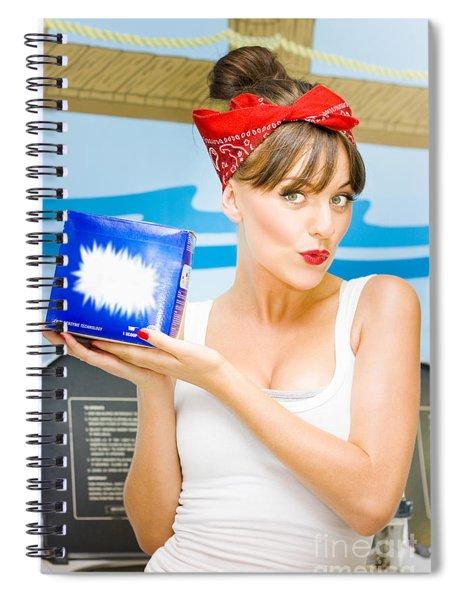 Housework Spiral Notebook