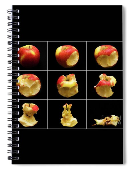 How To Eat An Apple In 9 Easy Steps Spiral Notebook