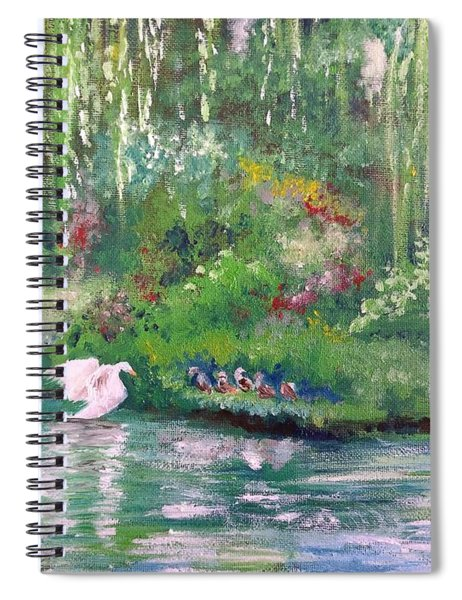 How To Swan Spiral Notebook
