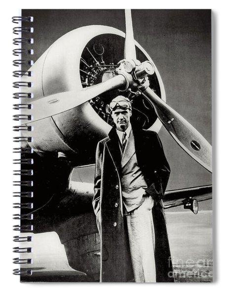 Howard Hughes - American Aviator  Spiral Notebook