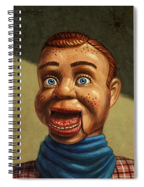 Howdy Doody Dodged A Bullet Spiral Notebook
