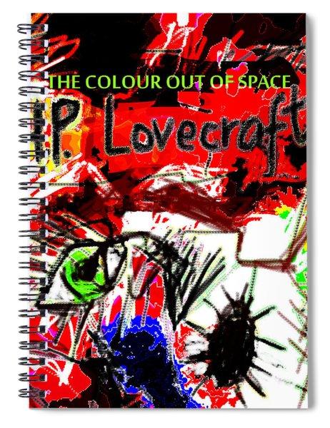 Hp Lovecraft Poster  Spiral Notebook