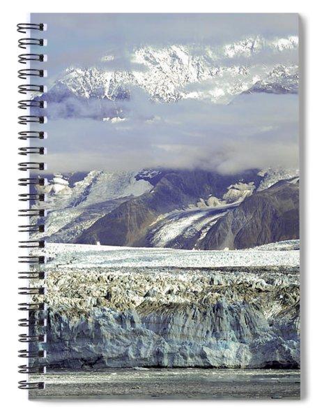 Hubbard Glacier Spiral Notebook