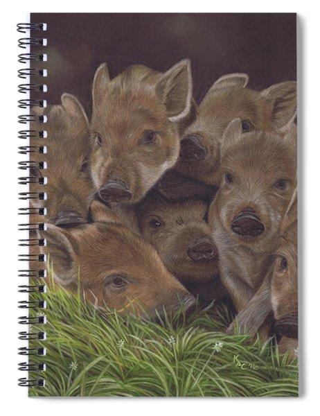 Huddle Of Humbugs Spiral Notebook
