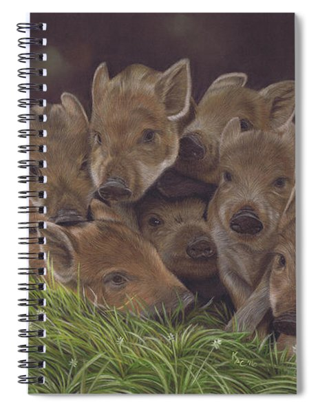 Huddle Of Humbugs Spiral Notebook