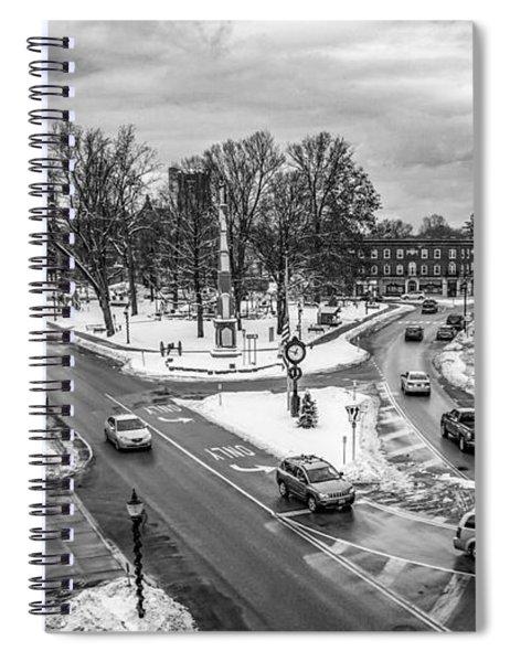 Hudson Falls Business District Spiral Notebook