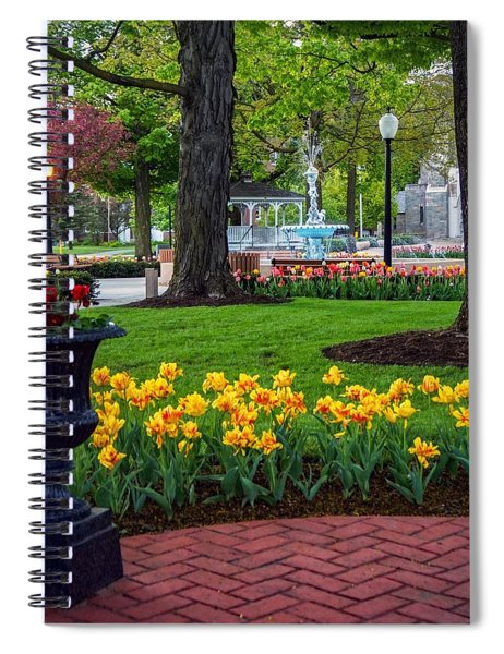 Hudson Falls...a Great Place To Call Home Spiral Notebook