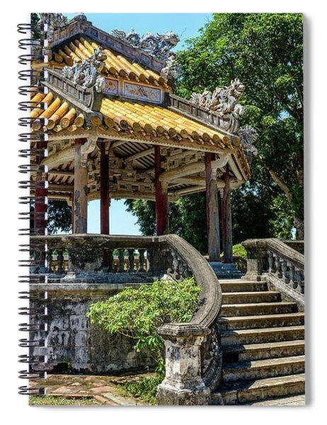 Hue Citadel Detail 03 Spiral Notebook