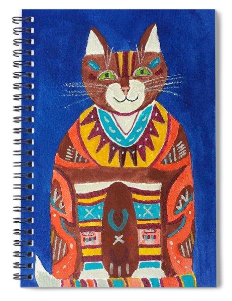Huey Cat Spiral Notebook