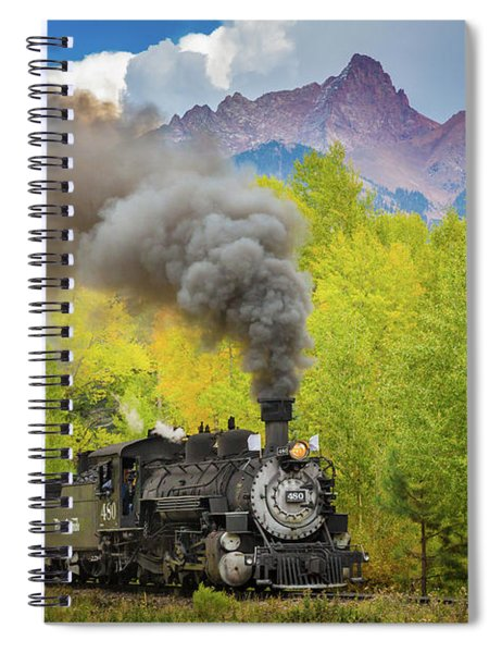 Huffing And Puffing Spiral Notebook