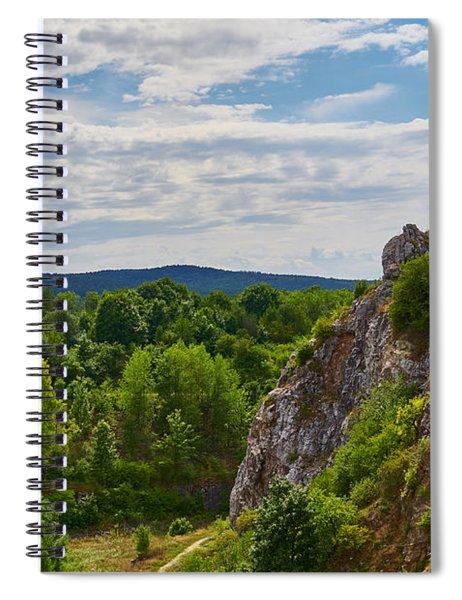 Hug A Rock Spiral Notebook