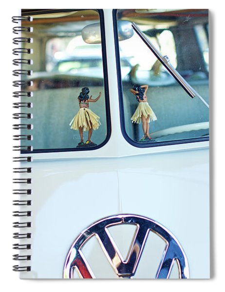 Hula 2 Spiral Notebook