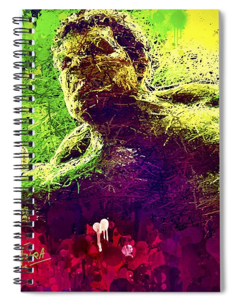 Hulk Smash Spiral Notebook