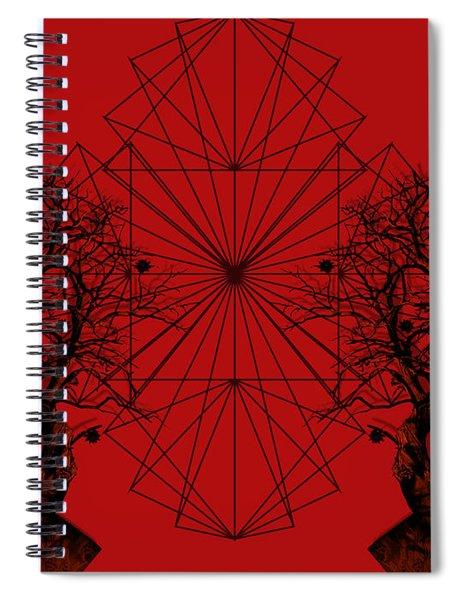 Human Tree Spiral Notebook